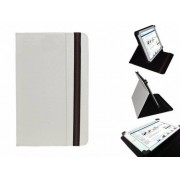 Uniek Hoesje voor de Hip Street Aurora 7 Inch - Multi-stand Cover, Wit, merk i12Cover
