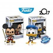 Set Mickey & Donal Funko Pop Disney Kingdom Hearts Videojuego