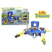 Little Treasures Toy Center City all Service Station Deluxe the Perfect Toy