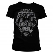 Battle Of The Worlds Finest Girly Tee