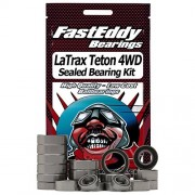 FastEddy Bearings Traxxas LaTrax Teton 4WD 1/18th Sealed Bearing Kit