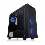Carcasa Versa J22, Tempered Glass, MiddleTower, Fara sursa, Negru