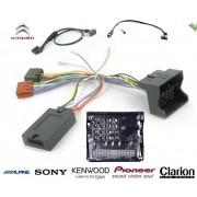 COMMANDE VOLANT CITROEN DS3 2009- - Pour Pioneer FAKRA AVEC RADARS RECUL