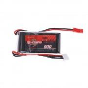 Acumulator Li-Po Wild Scorpion 900mAh, 11,1V 25C