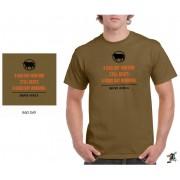 "Sniper Men ""Good day"" T-Shirt (Khaki)"