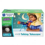 Educational Insights Geosafari Jr. Talking Telescope, Multicolor