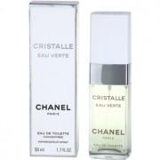 Chanel Cristalle Eau Verte Concentrée Eau de Toilette para mulheres 50 ml