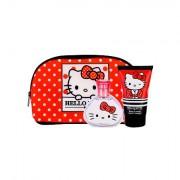 Koto Parfums Hello Kitty confezione regalo eau de toilette 50 ml + lozione corpo 100 ml + trousse per bambini