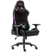 Silla Gamer Stylos XZEAL XZSXZ15B Color Negro, RGB, Acero, Alto Desempeño