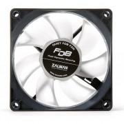 Ventilator carcasa PC Zalman ZM-F1 FDB, 80mm, 3 pini