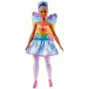 Papusa Barbie zana cu aripioare Dreamtopia