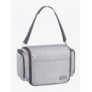 Cama-saco muda-fraldas da BABYMOOV Travelnest cinzento claro liso