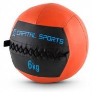 Epitomer Jogo de Wall Balls 6 kg Pele sintética 5 Unidades - laranja