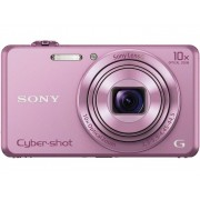 Sony Cyber-Shot DSC-WX220P Digitale camera 18.2 Mpix Zoom optisch: 10 x Roze Full-HD video-opname, WiFi
