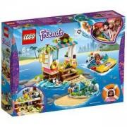 Конструктор Лего Френдс - Мисия за спасяване на костенурки - LEGO Friends, 41376
