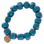 Simbi Clay Bracelet Turquoise