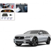 Auto Addict Car Silver Reverse Parking Sensor With LED Display For Volvo V90