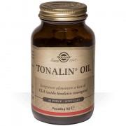 Solgar tonalin oil 60 perle integratore a base di estratto oleoso di semi di cartamo per sportivi dieta ipocalorica