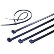 Colier cablu standard, danturat intern, stabil la UV, poliamidă 6.6 (PA66W), 160 x 4,8 mm, Ø fascicul 39 mm, negru