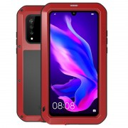 Love Mei Powerful Huawei P30 Lite Hybrid Case - Red