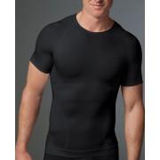 SPANX For Men Zoned Performance Crew Neck Short Sleeved T Shirt Black 619