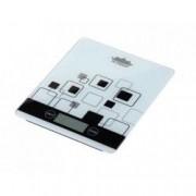 Cantar electronic de Bucatarie cu afisaj LCD 5kg alb