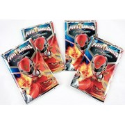 Mighty Morphin Power Rangers Action Card Game Rise Of The Hero Booster Series New Sealed Trading Cards -10 Card Pack - Set of 4 - 40 Cards Total