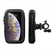 Shop4 - iPhone Xs Fietshouder Stuur Spatwaterdicht Zwart