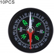 10 Pcs 40mm Deportes Outdoor Camping Senderismo Guider Plastic Compass Pointer Excursionista De Navegacion, Color Al Azar Entrega