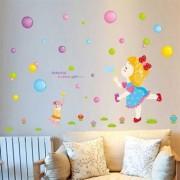 TipTop Wallstickers Color Bubble Pattern