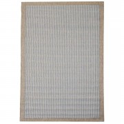 Floorita binnen/buitentapijt Chrome - blauw - 135x190 cm - Leen Bakker