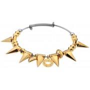 Hot Diamonds Brățară din oțel placată cu aur Emozioni Spike DC148