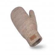 Rękawiczki damskie PaMaMi - Kawa z mlekiem