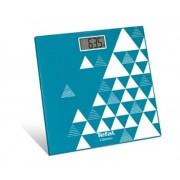 Cantar de baie Tefal Clasic BM7100S6, 30x30x2.2 cm, max 160 kg, turcoaz