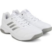 ADIDAS ADIZERO ATTACK W Tennis Shoes For Women(White)