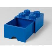 LEGO Cutie depozitare 2x2 cu sertar, albastru (40051731)