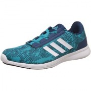 Adidas Women's Blue Lace-up Running Shoes