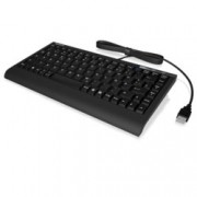 Клавиатура KeySonic ACK-595C+, X-Type membrane технология, черна, PS/2 & USB