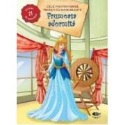 Frumoasa Adormita - Cele mai frumoase povesti cu autocolante