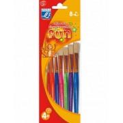 8 Pinceles multicolores Lefranc & Bourgeois® Única