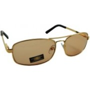 Libnan Photochromatic Rectangular Sunglasses(Clear, Grey)