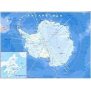 Карта на Антарктида