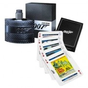 Kit James Bond 007 Perfume Masculino EDT 50ml + Playing Cards - Masculino