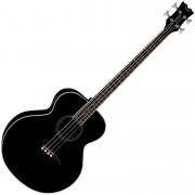 Dean Guitars Acoustic/Electric Bass - Classic Black