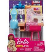 Set de joaca, Barbie - mobilier studio moda