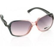 Opium Over-sized Sunglasses(Grey, Pink)