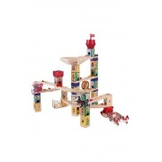 Hape Quadrilla Wooden Marble Run Construction Medieval Quest Set