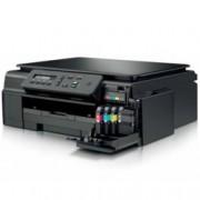 Мултифункционално мастиленоструйно устройство Brother DCP-J100, цветен, принтер/скенер/копир, 6000x1200 dpi, 11 стр/мин, USB, A4