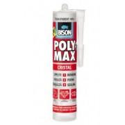 BISON Poly Max Cristal - Adeziv şi etanşeizant