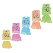 SK Naren's Stylish Looking Baby Boys Girls Clothing Set for Kids Tops and Bottoms -Multicolored (Set of 5) B506